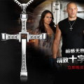 New Male Necklaces & Pendants Fashion Movie jewelry The Fast and The Furious Toretto Men Classic CROSS Pendant Necklace N134