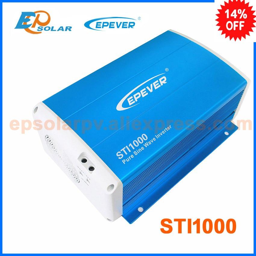 1000w Input 48v dc to output 220v ac EPEVER pure sine wave inverter STI1000 for solar power bank system use трубный ключ stillson truper sti 48 15842