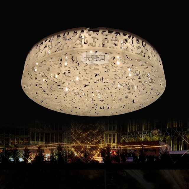 led acrylic ceiling circular dome lamp modern minimalist bedroom