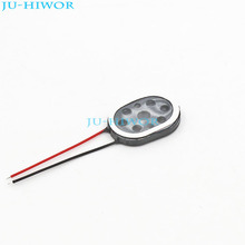 (20pcs/lot) 2014 1420 Oval Tablet Phone MP3 Speaker 1W 8 Ohms L20MMxW14MM thickness:3.5MM With Wires