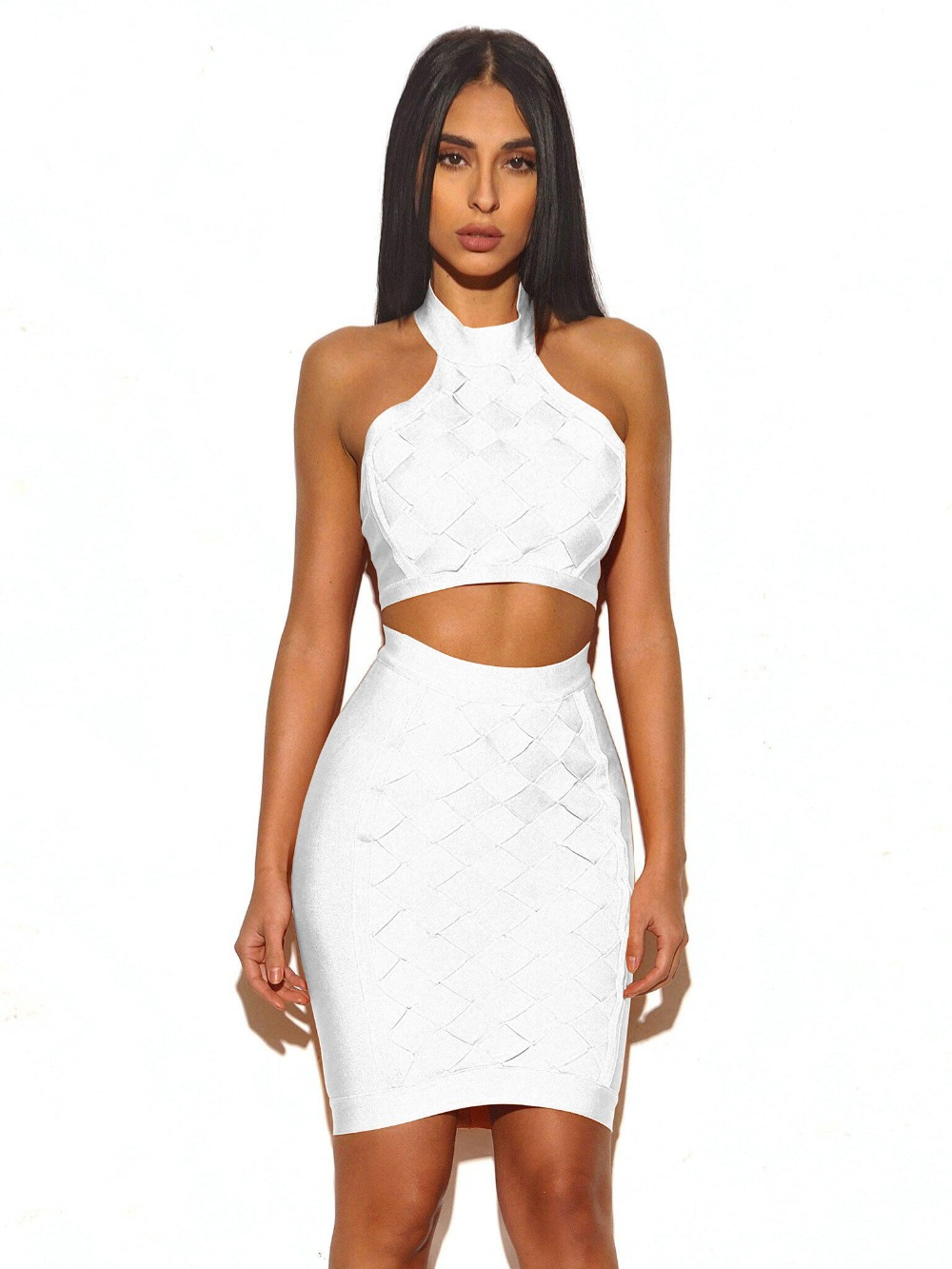 Ariana Two-Piece Dress in Nude | Noodz Boutique