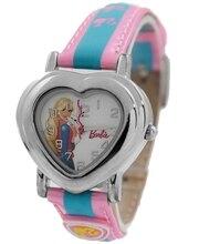 NATURAL Rosa Band PNP Plata Brillante caja de Reloj Con Estilo de Cuarzo Reloj de Los Cabritos KW052C