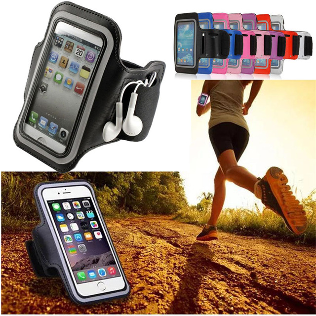 timeless design de28f 1e18c Running Jogging Sport Armband Gym Arm Band Bag Holder For iPhone 6/6 Plus  6S/6 Plus 7 8 X Universal For Below 5.5 inch Phone ><