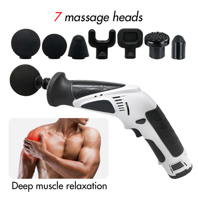 Fascial muscle massage gun Replace Head Accessories Deep Tissue Massage Percussion Therapy Pain Relief Relaxtion Attachments