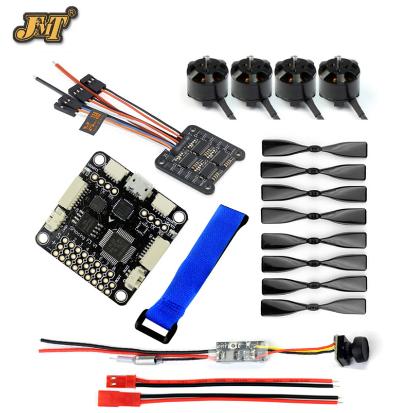 JMT DIY 130-150 FPV Racing Drone parts 1104 4000KV Motor 12A 4 IN 1 ESC 3 Inch Props SP Racing F3 Flight Control Mini Camera diy fpv mini drone qav210 zmr210 race quadcopter full carbon frame kit naze32 emax 2204ii kv2300 motor bl12a esc run with 4s