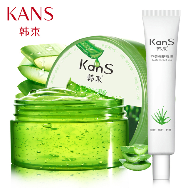 Acne Treatment Oil-Cotrol Natural Aloe Vera Gel Mask Remove Scars Acne Spot Face Mezoroller Creams Beauty Skin Care180+ 35g