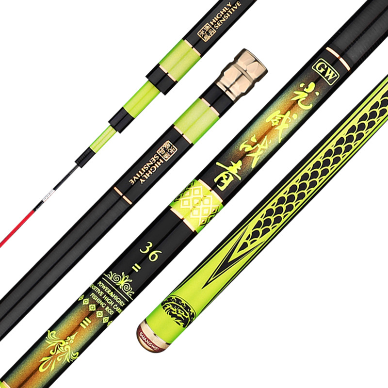 Taiwan Fishing Rod Super Hard and Ultra Light Fishing Pole High Carbon Hand Rod Telescopic and Carried Fishing Rod Fishing ToolsTaiwan Fishing Rod Super Hard and Ultra Light Fishing Pole High Carbon Hand Rod Telescopic and Carried Fishing Rod Fishing Tools
