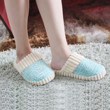 New Slipper Autumn Winter Warm Men Women Cotton-padded Lovers At Home Slippers Indoor floor Shoes