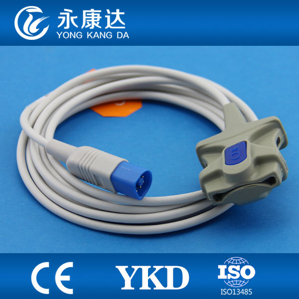 New type Direct Adult soft tip spo2 probe with 8pin for optical sensorNew type Direct Adult soft tip spo2 probe with 8pin for optical sensor