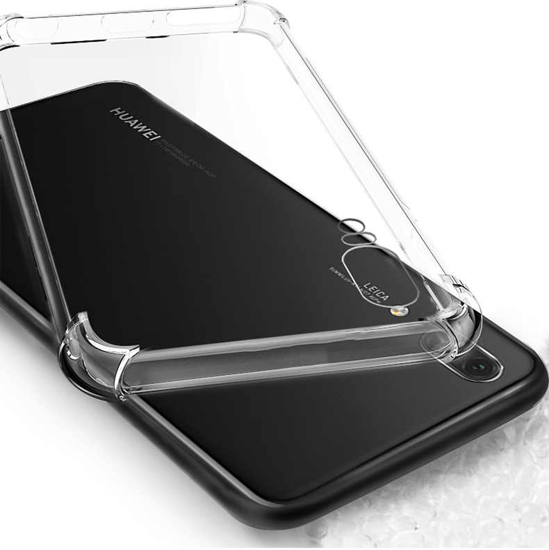 Transparent Soft TPU Clear Silicone Case For Huawei P20 Pro P10 lite Mate 9 10 Pro lite Nova 2 2i Honor 6A 6X 7X 9 6C 8 Pro bag