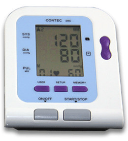 Portable Home Digital  BP Monitor CONTEC08C, Heart Beat Meter bp 3 home garden