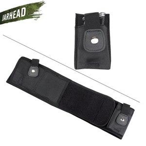 Image 4 - Universal Tactical Banda Barriga Ocultaram Transportar Pistola Coldre Bolsa Saco Da Cintura Invisível Cinto Cinto Elástico para a Caça Ao Ar Livre