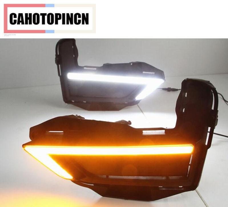 Turn Signal style Relay 12V LED DRL Daytime Running Light Daylight fog lamp For Nissan Rogue