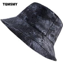 af2de676777 TQMSMY Unisex men women Bucket Hat cap Camping Fishing Printing Letter Wide  Brim Fishierman Cap Summer