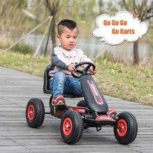Детская педаль Go Kart с надувными резиновыми колесами