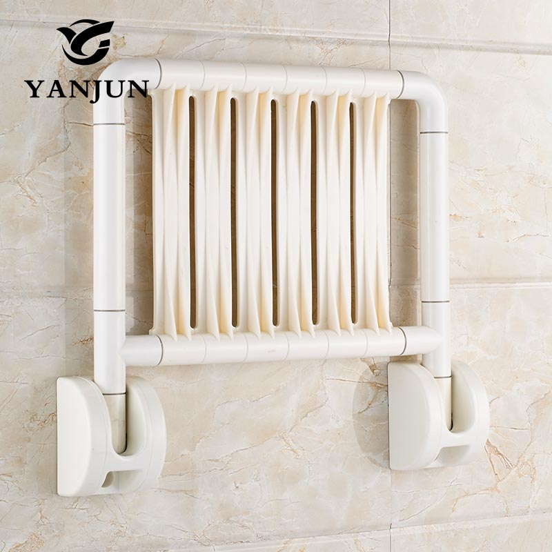 YANJUN Fold Up Bath Shower Seat Anti water Relaxation Shower Chair ...
