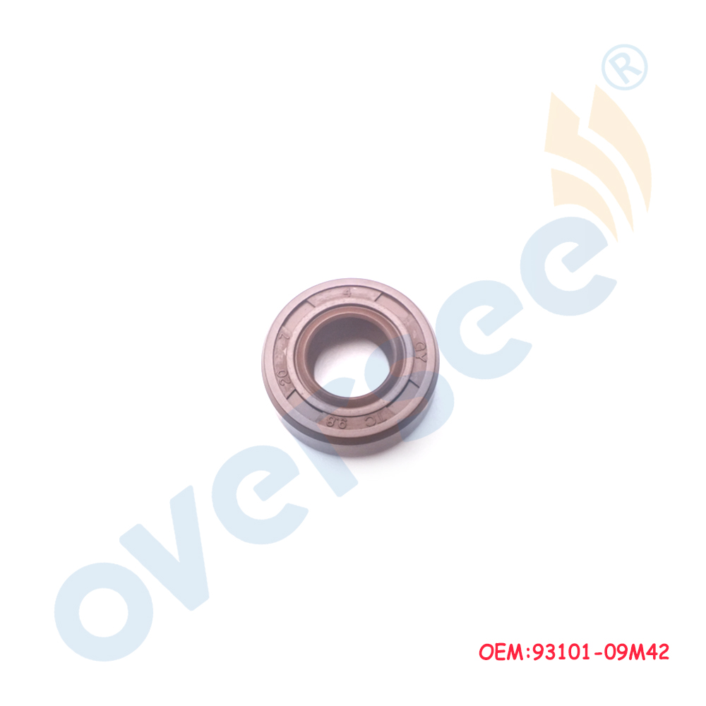 OVRESEE 93101-09M42 Oil Seal 9.8x20x7 For Yamaha Outboard Motor 3HP 6L5