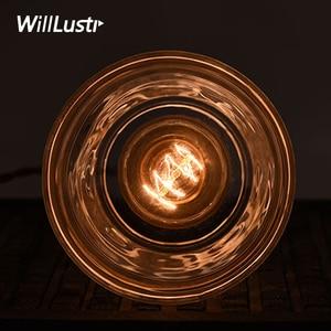 Image 5 - Хрустальная медная Подвесная лампа ручной работы из матового стекла для ресторана, отеля, столовой, кафе бара, латунная Подвесная лампа