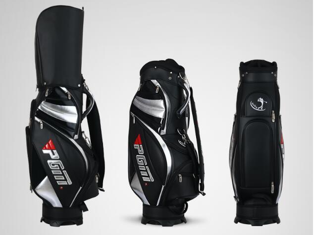 Haute qualité! PGM véritable paquet de Sport de Golf Standard Caddy hommes sac de chariot de Golf professionnel balle personnel sac couverture 2 couleurs