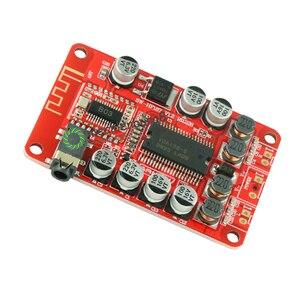 Image 2 - YDA138 DC 12V 2A Bluetooth dijital ses amplifikatörü modülü Kurulu Sınıf D 2*15 W stereo 2 kanal Güç amplifikatörler