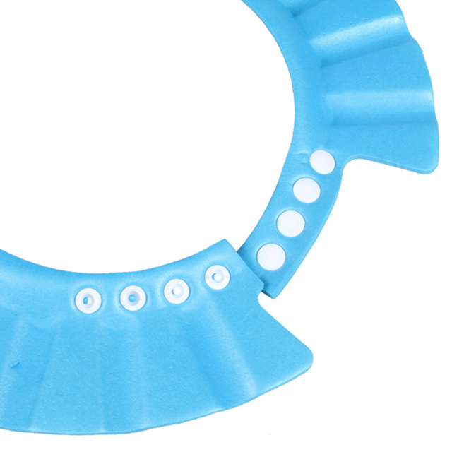 Adjustable Latex Shower Cap for Babies