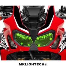 Motorbikes Accessoris Headlight Protector Cover Screen Acrylic Lens  For HONDA CRF1000L (Africa Twin) 2015-2018