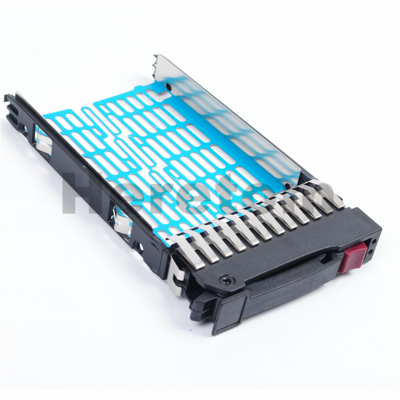 Heretom New SAS SATA 2.5 HDD Tray Caddy 378343-002 for HP DL360 DL380 G5 G6 G7 image
