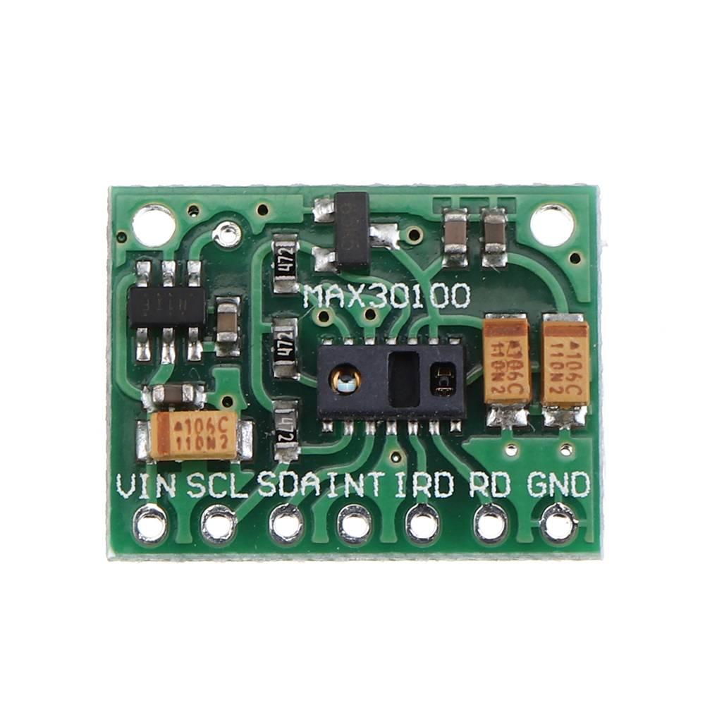 MAX30100 модуль датчика Сердечного Ритма Датчик Сердцебиения оксиметрический Пульсоксиметр ультра-низкое энергопотребление для Arduino