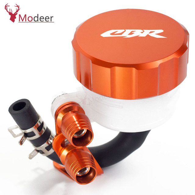 Motorcycle Filter Fluid Rear Brake Master Cylinder Oil Reservoir Cover Cap For Honda CBR900RR 929RR 954RR CBR 900RR 929 954 RR