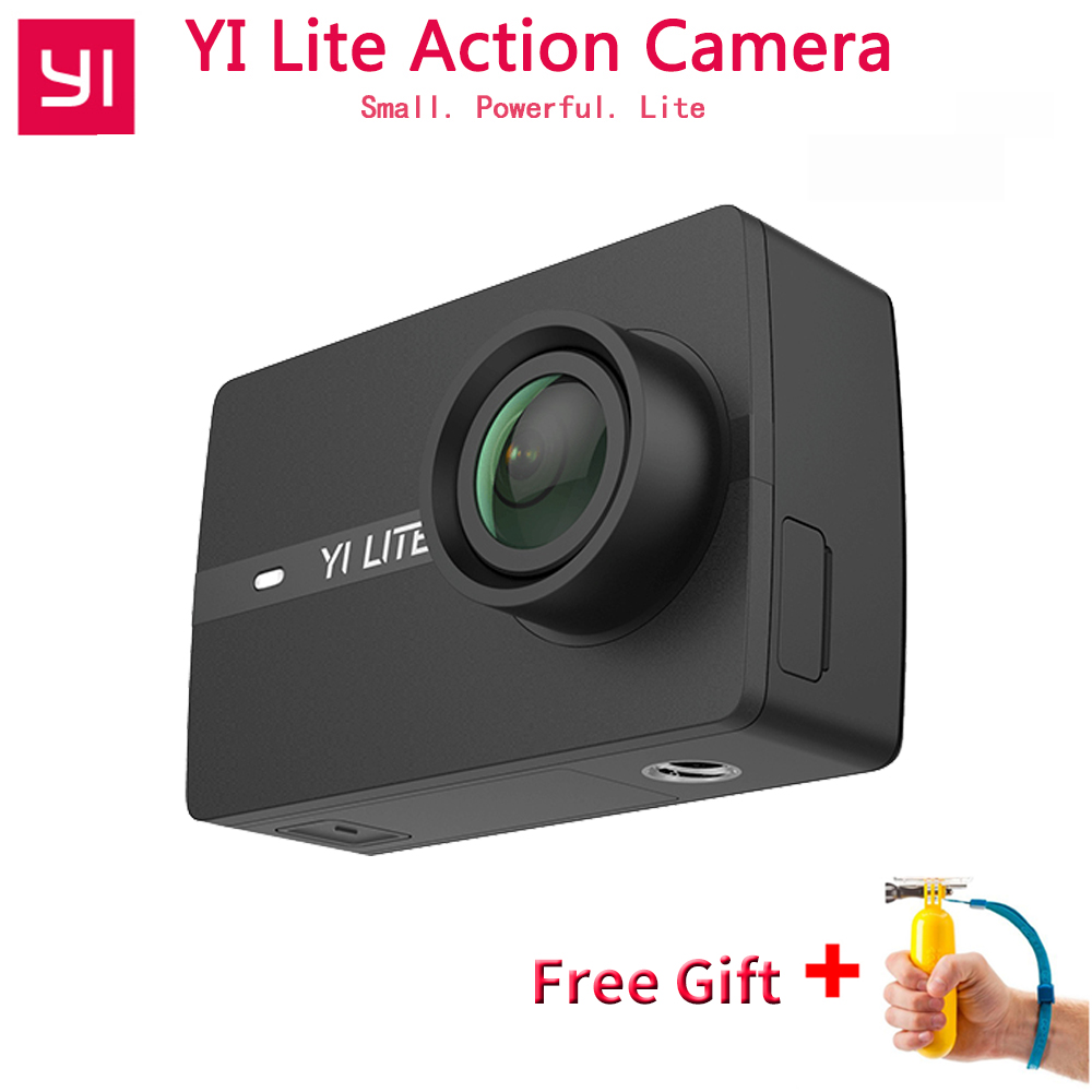 YI Lite Action Kamera Für Internationalen Xiaomi 16MP Echt 4 karat Sport Kamera WIFI Bluetooth 2