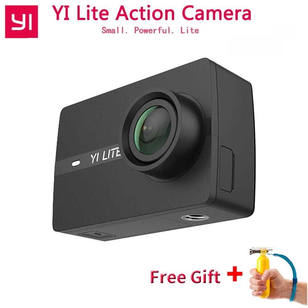 YI Lite cámara de acción internacional para Xiaomi 16MP Real 4 K cámara de Deportes de WIFI Bluetooth 2