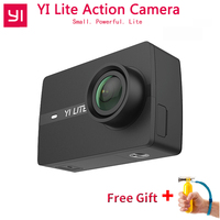 YI Lite Action Camera For International Xiaomi 16MP Real 4K Sports Camera WIFI Bluetooth 2 Touch LCD Screen EIS 150 Degree Lens