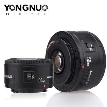 YONGNUO Lens YN50mm f1.8 EF 50mm f/1.8 AF Lens YN50 Aperture Auto Focus for Canon EOS T6 EOS 700D 750D 80 Canon DSLR Cameras - DISCOUNT ITEM  22 OFF Consumer Electronics