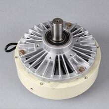 Магнитный порошковый тормоз, одиночный вал 6 нм 0,6 кг, постоянный ток, 24 В, 12 мм, 1400 об/мин, Размотка для контроля натяжения, крашеная машина для печати мешков