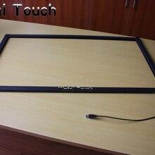 60 дюймов инфракрасный ИК датчик мульти сенсорный экран, 10 точек мульти сенсорный экран для Smart tv, светодиодный сенсорный ТВ/смарт-доска