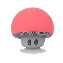 Cartoon mushroom head  wireless Bluetooth portable speaker desktop mobile phone support small