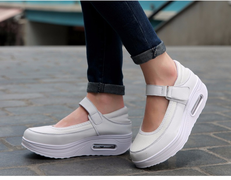 Mary Janes Style Women Casual Shoes Fashion Low Top Platform Shoes zapatillas deportivas mujer Breathable Women Trainers YD129 (19)
