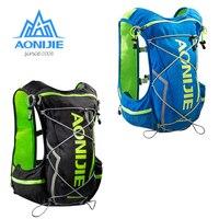 Men Women 10L Outdoor Cycling Running Backpack Lightweight Marathon Hydration Vest Bag
