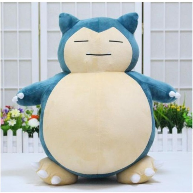 где купить New Arrival Jumbo SNORLAX Plush Toys Kabigon Plush Toy Soft Stuffed Dolls 35cm Figure Gift дешево
