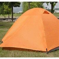 Camping Outdoor Tents Waterproof Tent Outdoor Double Tents Double Open Aluminum Pole Tent