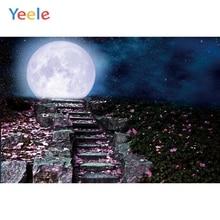 Yeele Halloween Night Party Decor Moon Customized Photography Backdrop Personalized Photographic Backgrounds For Photo Studio