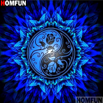 HOMFUN Full Square/Round Drill 5D DIY Diamond Painting