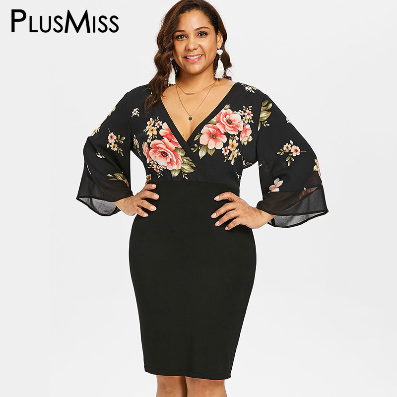 b5749587ac US $16.49 2018 Fashion Plus Size Dress Large XL/XXL/XXXL Strapless ...