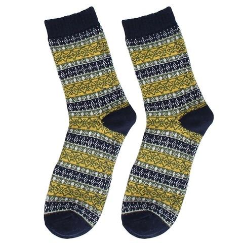2018 New Autumn Casual Mens Socks Stripe Wool Socks Business Male Socks Karachi