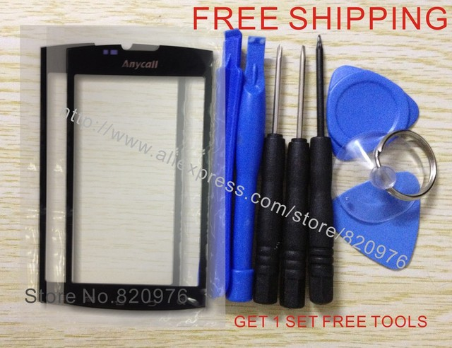 (2 Piece/lot) Original Glass Touch Screen Outer LCD Top Replacement Glass for Samsung i9088 9088+ Tools+Free Shipping