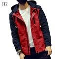 Nuevo 2017 Hombres Chaqueta De Bombardero Moda Casual Loose Windprof Hombre chaqueta Deportiva Chaqueta para Hombre chaquetas y Abrigos Más El Tamaño J06