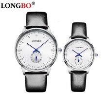 Top Brand Fashion LONGBO font b Watch b font Men Women font b Watches b font