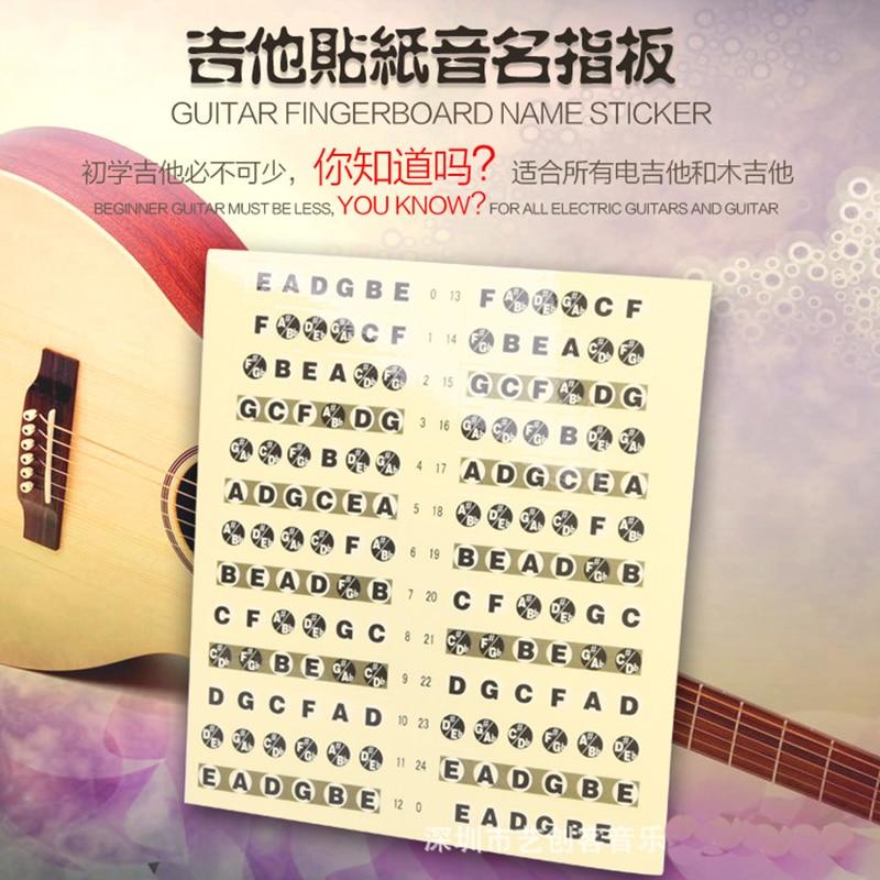 SOACH Կիթառի մատների ափսեի կպչուն կիթառի մարմնի պարագաների համար կիթառի պարանոցով խցկված գործիքային նվագախմբի նվագարկիչ ukulele