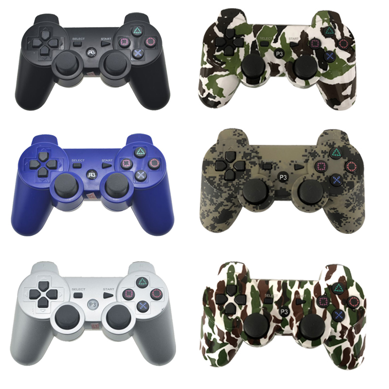 Bluetooth Controller For SONY PS3 Gamepad For Play Station 3 Wireless Joystick For Sony Playstation 3 PC SIXAXIS Controle for sony ps3 controller bluetooth gamepad for playstation 3 joystick wireless console for sony playstation 3 sixaxis controle pc