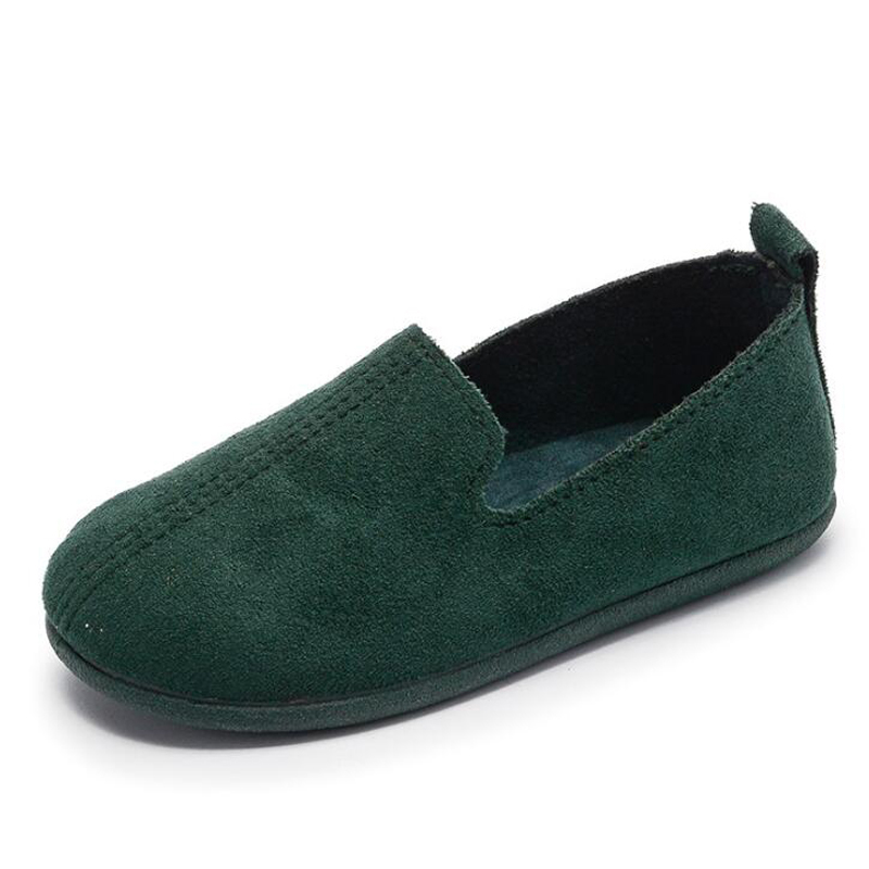 Boys girls Sneakers 2018 Spring New Leisure Kids loafers Shoes Flat Breathable Children Single shoes soft bottom dance shoes